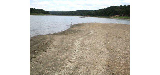 Ketence Barajı da kurumak üzere