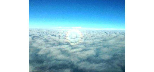 Bu fotoğrafa İzmit'in 9,144 metre üstünden