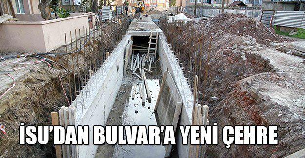 İSU'dan Bulvar'a yeni çehre