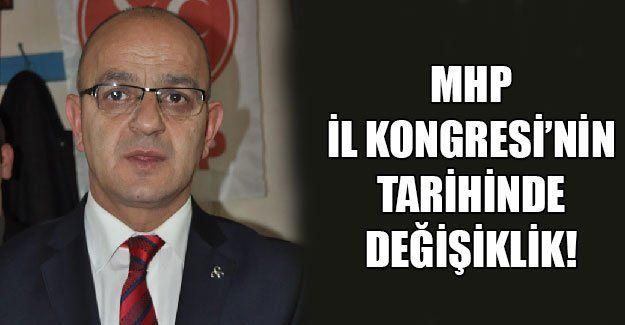 MHP il kongresi 1 Şubat'a alınacak