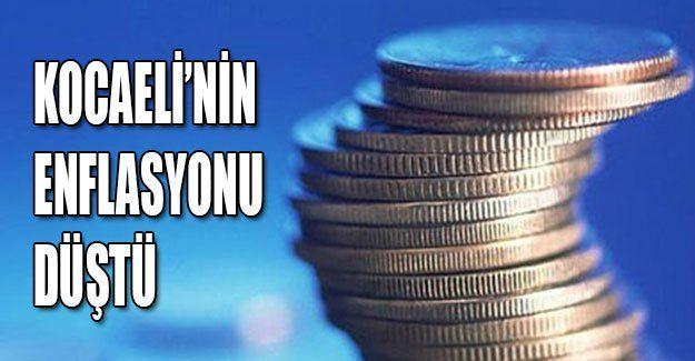 Kocaeli'nin enflasyonu düştü