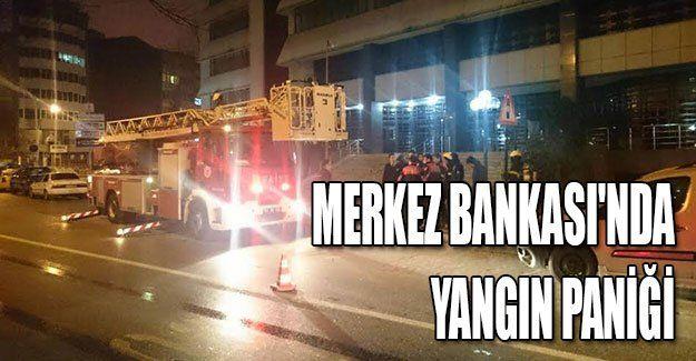 Merkez Bankası'nda yangın paniği