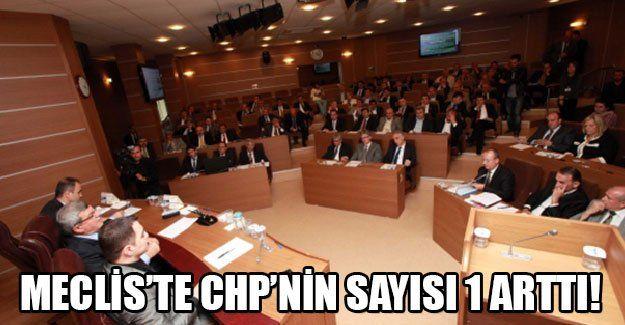 Büyükşehir Meclisi'nde  CHP'nin sayısı 1 arttı