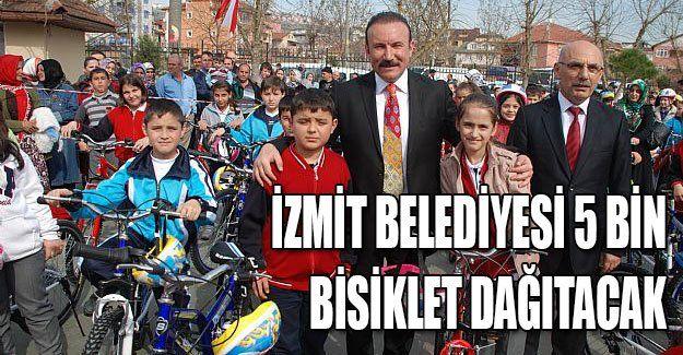 İzmit Belediyesi 5 bin bisiklet dağıtacak