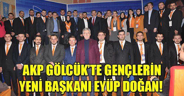 AKP Gölcük'te gençlerin yeni başkanı Eyüp Doğan