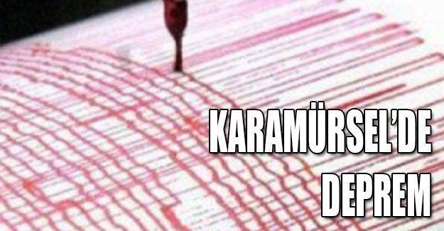 Karamürsel'de deprem