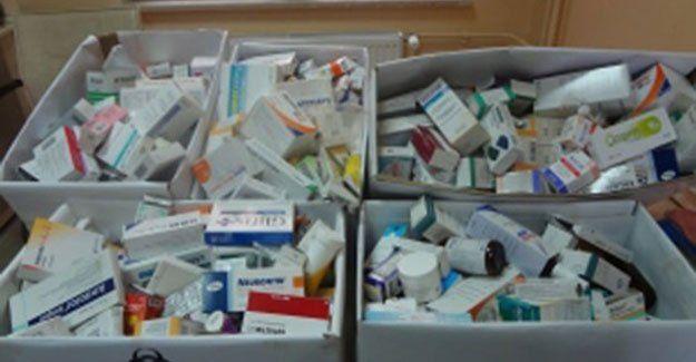 Atık ilaçlar Çöp Fabrikası'nda