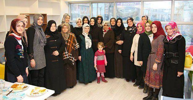 KİHMED'li kadınların buluşması