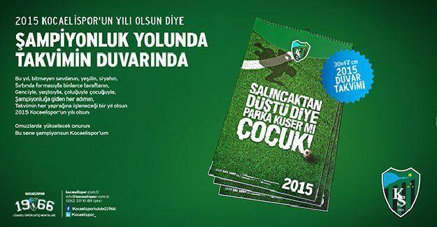 Kocaelispor takvimleri satışa çıktı