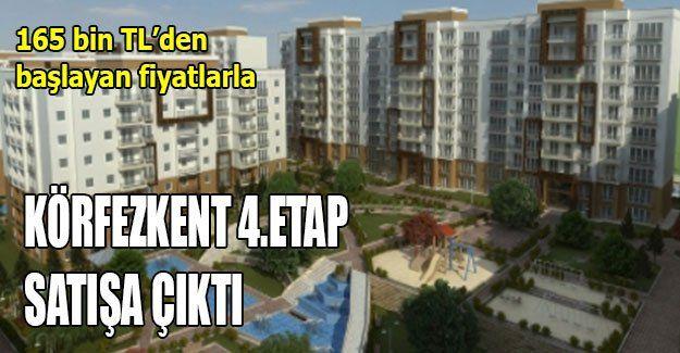 Körfezkent 4.Etap satışa çıktı