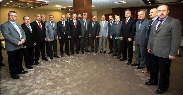 Başkan, Gebze Belediyesi birim müdürlerini ağırladı
