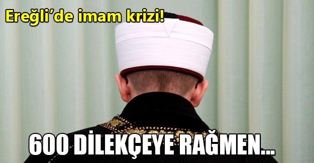 Ereğli'de imam tartışması