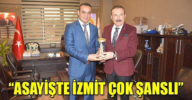 """Başkan Doğan: """"Asayiş bakımından İzmit çok şanslı şehir"""""""