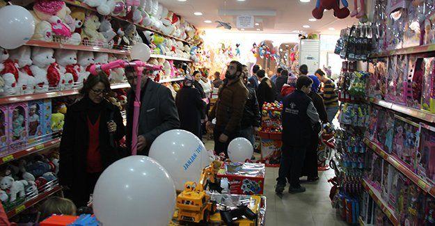 Derince'de Jan Jan Toys açıldı