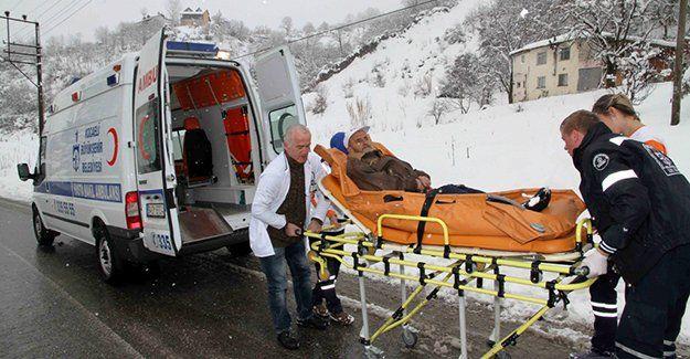 Hasta nakil ambulanslarından bir yılda 44 bin kişi faydalandı