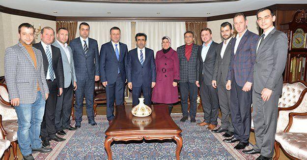 AKP İzmit'in Vali ziyareti