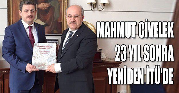 Mahmut Civelek, 23 yıl sonra yeniden İTÜ'de