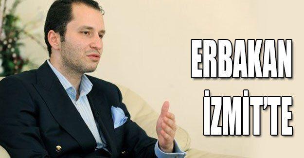 Erbakan İzmit'te
