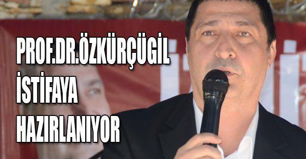 Prof.Dr.Özkürçügil istifaya hazırlanıyor