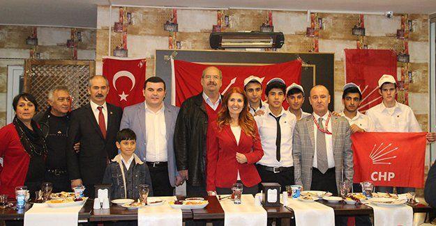 CHP'li Semra Başlak'ın Körfezkent toplantısı