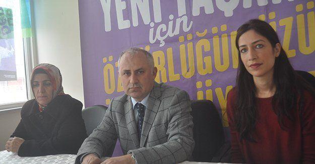 HDP'den Metal işçilerine destek