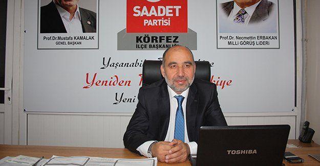 """Recep Sarıdoğan: """"Halkımız ittifaka sahip çıksın"""""""