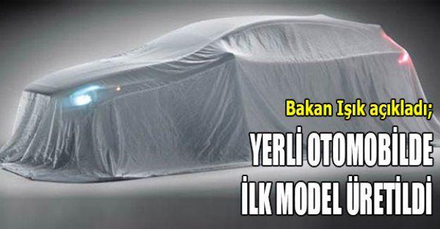 Yerli otomobilde ilk model üretildi