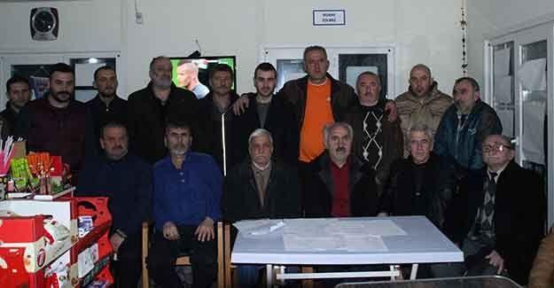 Yenidoğan Serdarspor'da görev dağılımı yapıldı