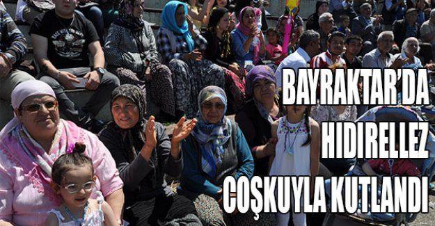 Bayraktar'da Hıdırellez coşkuyla kutlandı