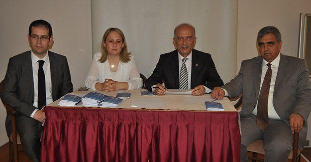 CHP'li avukatlar seçim güvenliğini konuştu