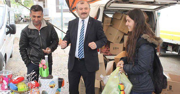 Rıza Ağdağ, vatandaş için pazarlık yaptı