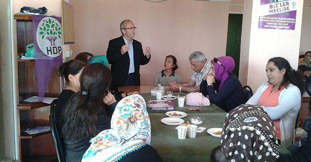 HDP, Çınarlı'da kadınlarla buluştu
