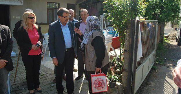 AKP Karamürsel, köyleri dolaştı
