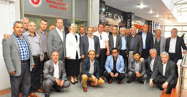 Katırcıoğlu, muhtarlara başkanlık sistemini anlattı
