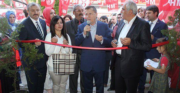 MHP Yeşilova'da irtibat bürosu açtı