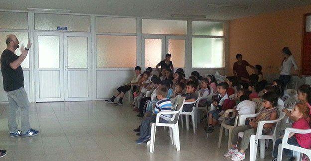 Gültepe Cemevi'nde Halkevleri Yaz Okulu