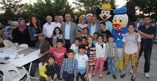 İftar Sofrası Yenikent'te kuruldu