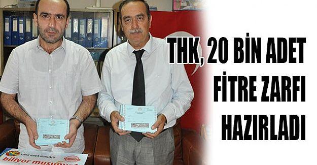 Türk Hava Kurumu, fitre zarfları hazırladı