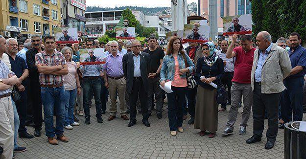 HDP, Rıfat  Horoz için toplandı