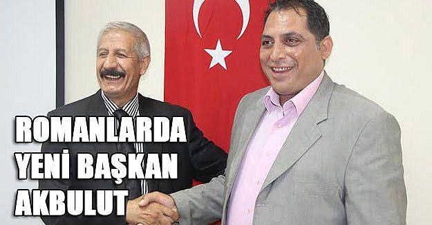 Romanlarda yeni başkan Akbulut