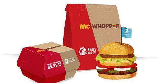 McDonald's Burger'in teklifini reddetti