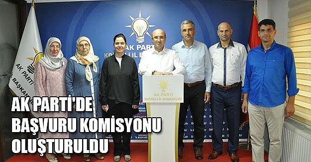 AKP'de başvuru kabul komisyonu oluşturuldu