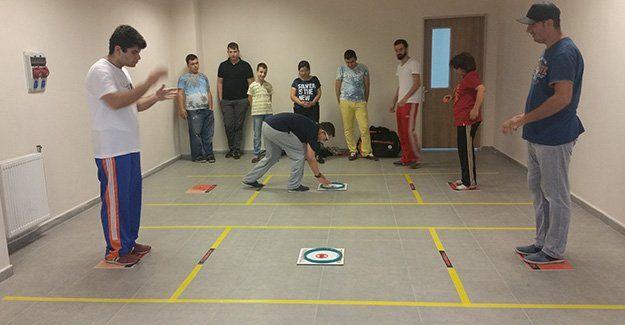 Engellilere hemsball kursu