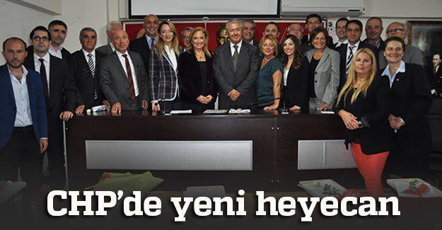 CHP'de yeni bir heyecan