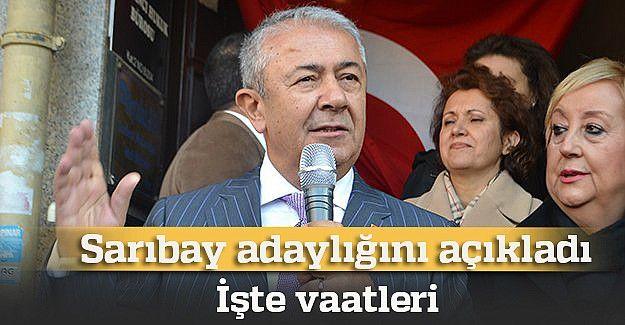 Cengiz Sarıbay adaylığını açıkladı