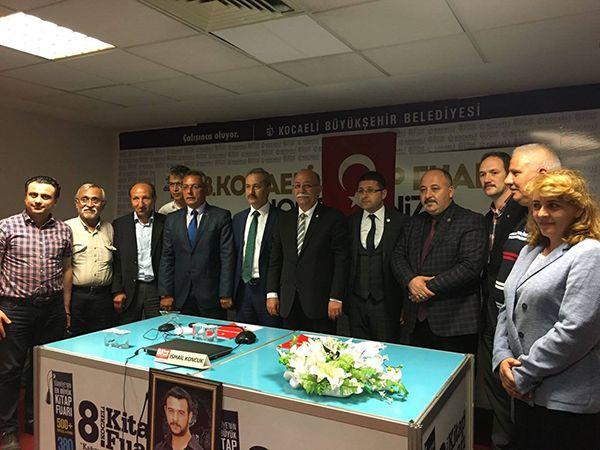 Kamusen Genel Başkanı Koncuk Türk Ocağına konuk oldu