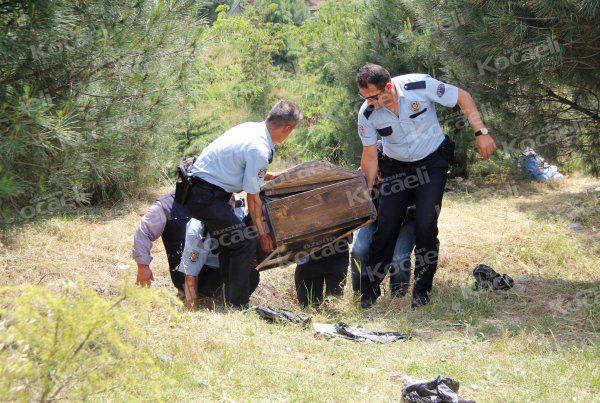 Derince'de ağaçlık alanda bir kişi ölü bulundu