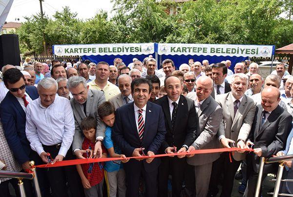 Kartepe Hasan Paşa Merkez Camii açıldı