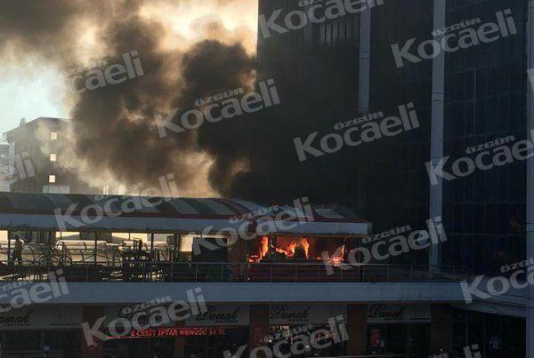 Belsa Plaza'da Alaturka Kafe yandı