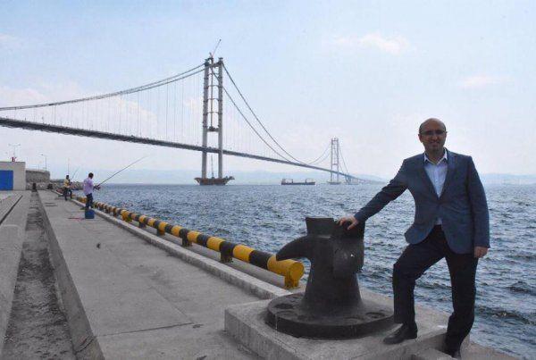 """Ceyhan'dan köprü mesajı: """"Vurur yüze ifadesi, Osmangazi bitti bir tanesi"""""""